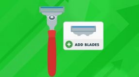 handheld manual razor shaver: add blades