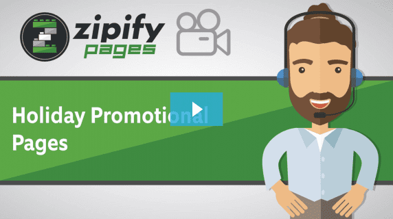 Zipify pages - Holiday Promotional Pages