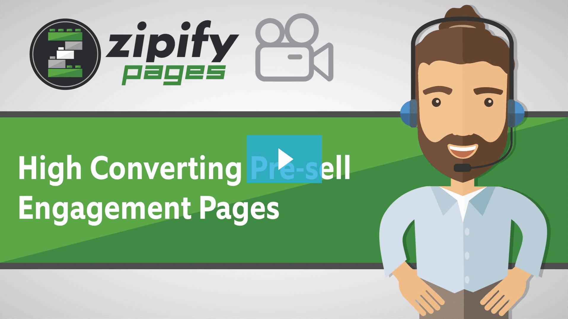 Zipify Pages - high converting pre-sell engagement pages