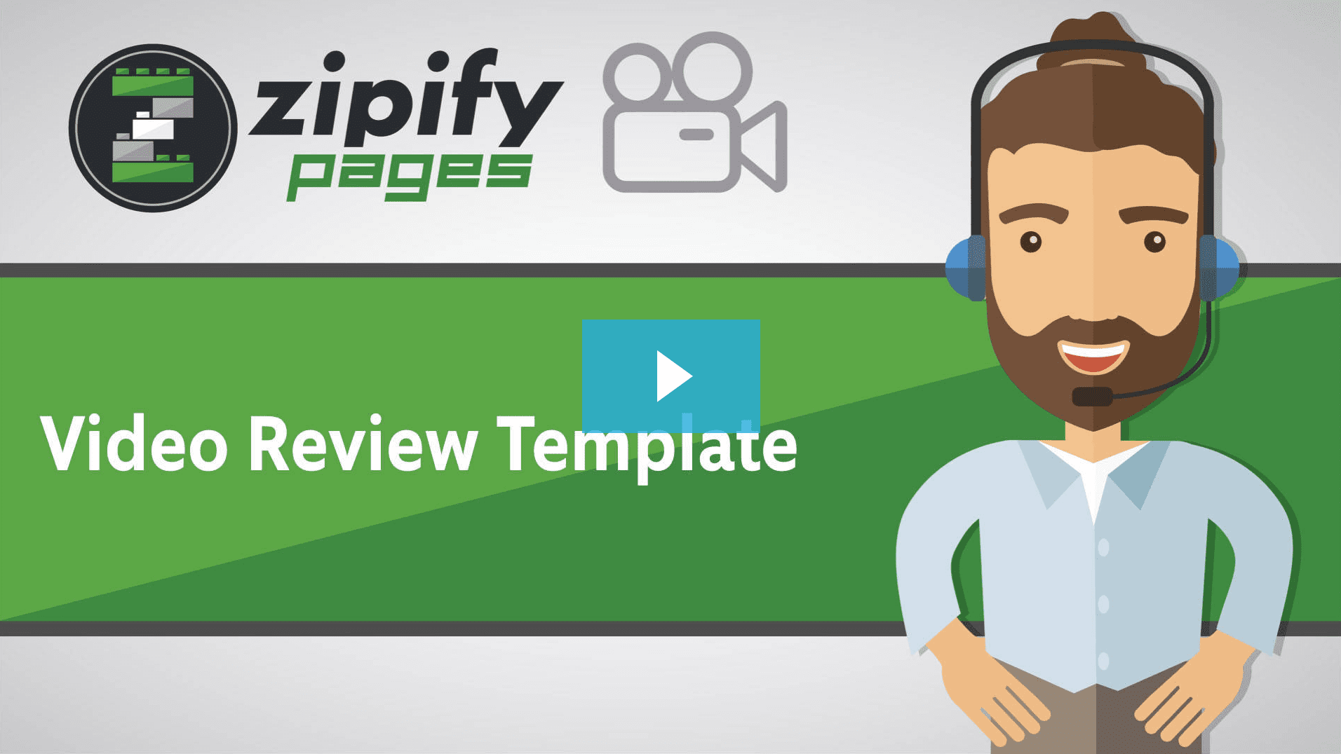 Zipify pages - Video Review template