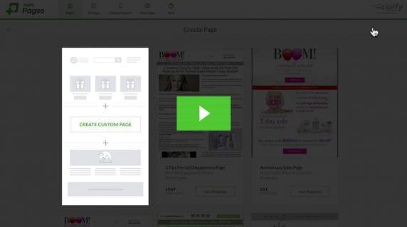 Creating a custom page