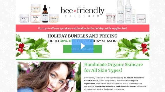 beefriendly skincare - holiday bundles and pricing