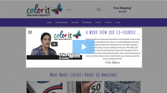 ColorIt, a word from co-founder