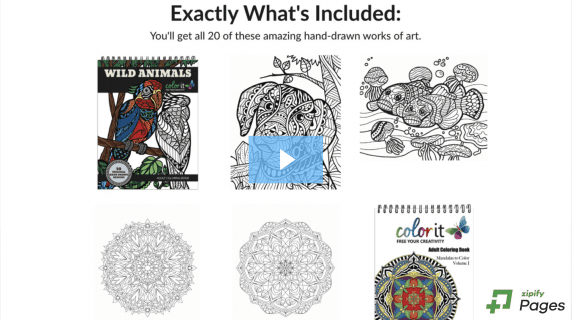 20 amazing hand-drawn works of art, ColorIt