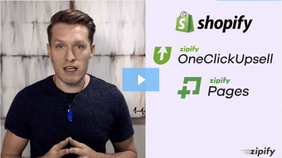shopify, zipify OneClickUpsell, zipify pages