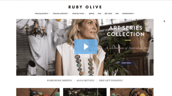Ruby olive Arts Series Collection