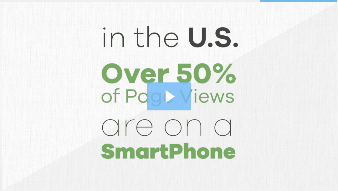 page views are on a smartphone