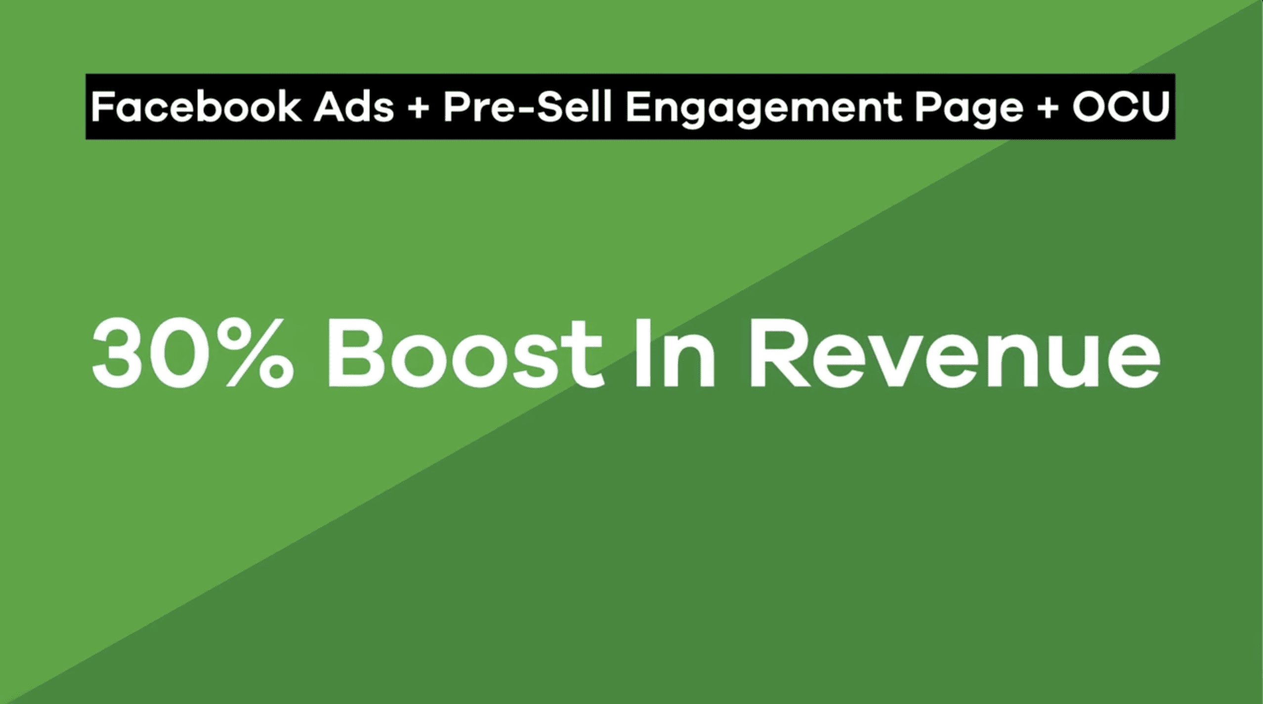 30% Boost in revenue