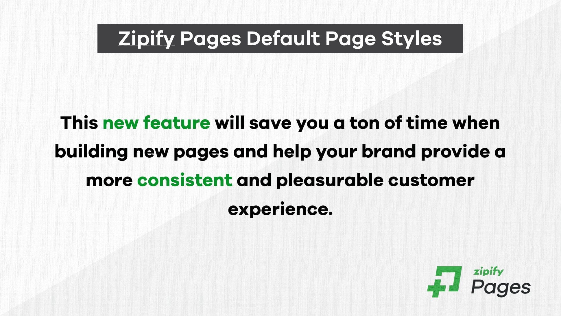 Zipify default page styles