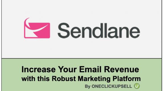 increasing email revenue with Sendlane