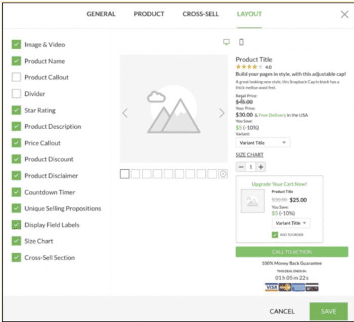 Here are the list of options to customize your Dynamic Buy Box.