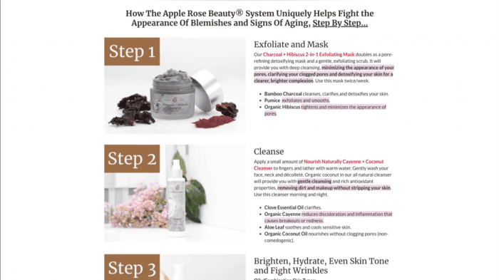 image of product instructions
